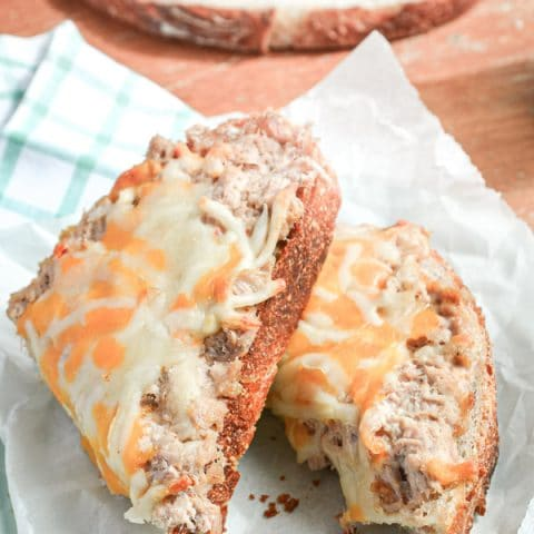 It doesn't get much more frugal than Sourdough Tuna Melts! With the right seasonings and a thick slice of crusty sourdough bread, you're ready to serve dinner in less than 20 Minutes!