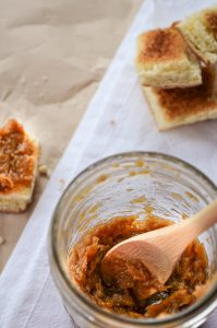 This Caramelized Onion Spread lends an incredible flavor to a variety of uses and can be made ahead of time! A little goes a long way. Low Carb.