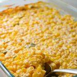Jalapeno Cheddar Creamy Corn Casserole