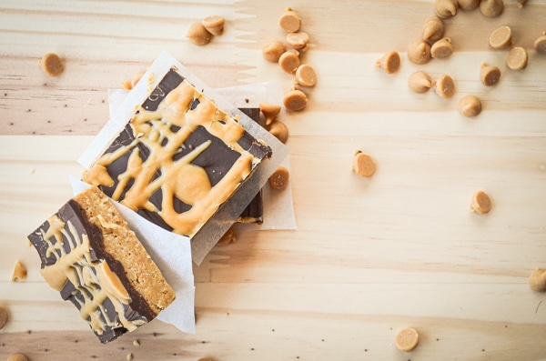 PB addicts will absolutely love these Peanut Butter Swirl Bars! They are No Bake, which makes them the perfect summer dessert!