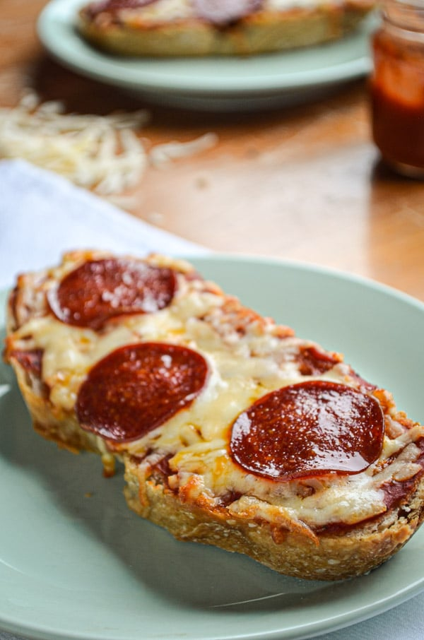 If you are looking for the easiest meal idea ever that is sure to please every time, try this delicious Pizza Toast! Ready in under 20 minutes and kid friendly too!