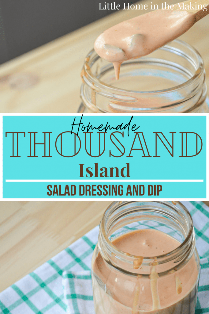 Why buy from the store when you can make your own Homemade Thousand Island Dressing? You won't believe how easy it is!