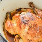 Rosemary Dutch Oven Chicken - Healthy Whole Chicken Recipe