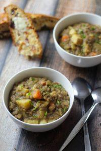 Bavarian Lentil Soup - The Wanderlust Kitchen
