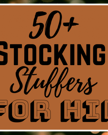 Looking for some fun ideas for Christmas this year? Check out this list of 50+ Stocking Stuffer Ideas for Him!