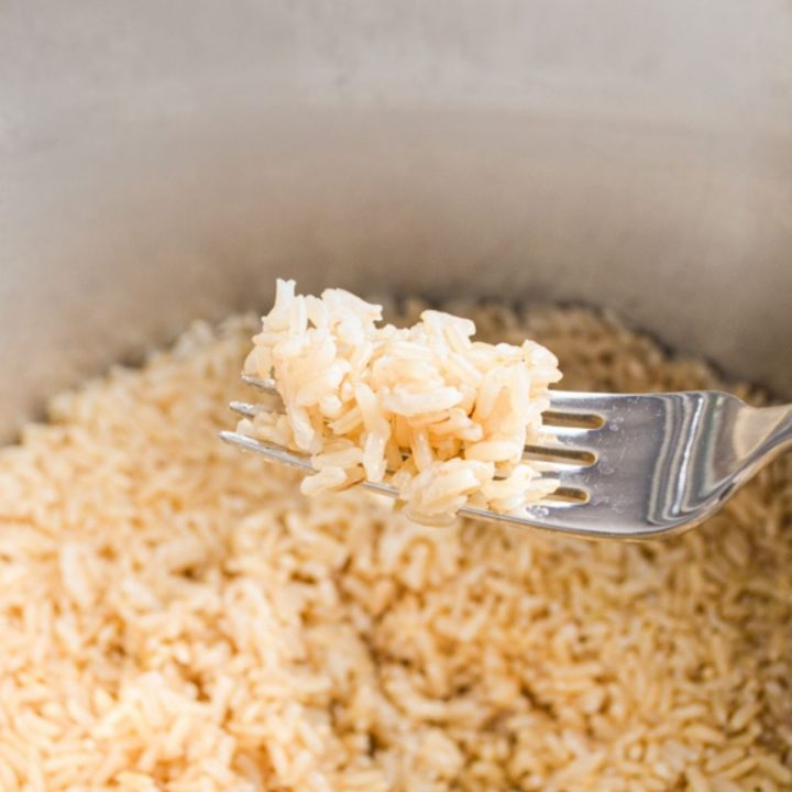 Brown rice in the Instant Pot