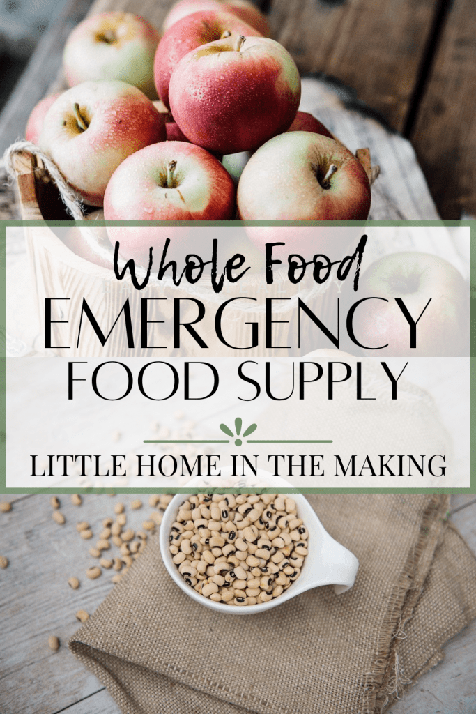 Do you eat a whole foods or traditional diet? Check out this list of suggestions for an Emergency Food Supply on a whole foods diet. There are so many ways to preserve natural, fresh food. Read on for more information!