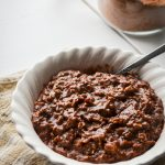 Chocolate Peanut Butter Oatmeal - Naturally High in Protein