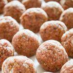 Easy Homemade Freezer Meatballs