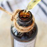 Cedarwood and Orange Beard Oil {With Free PDF Printable Labels}