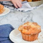 Strawberry Buttermilk Muffins with Cinnamon Streusel Topping