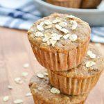 Sourdough Applesauce Muffins {Using Discard}