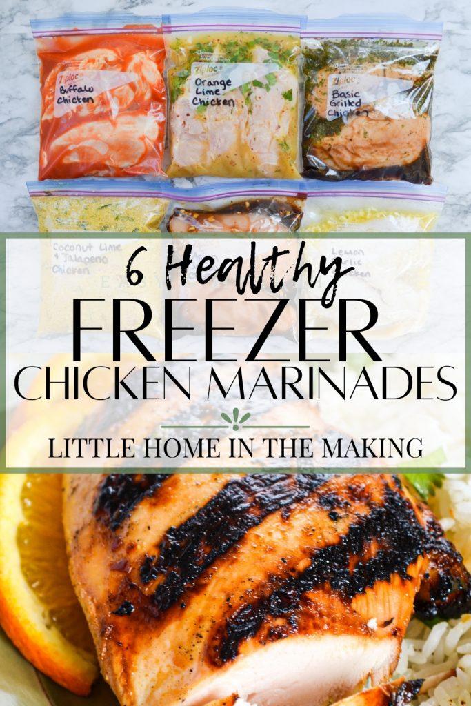 6 Healthy Chicken Marinades
