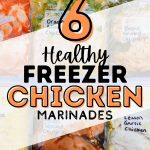 6 Healthy Freezer Chicken Marinades {for the Grill}