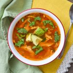 Healthy Mexican Chicken Soup