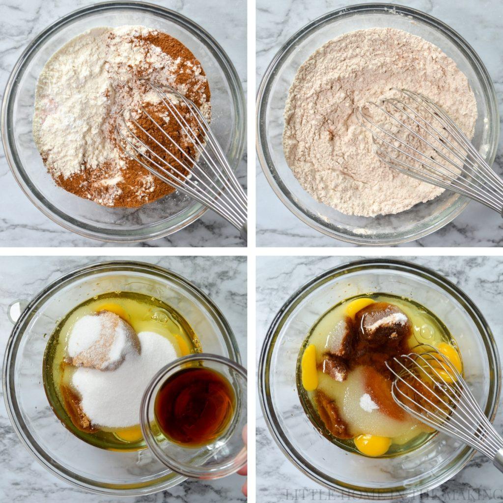 How to make sourdough zucchini bread.