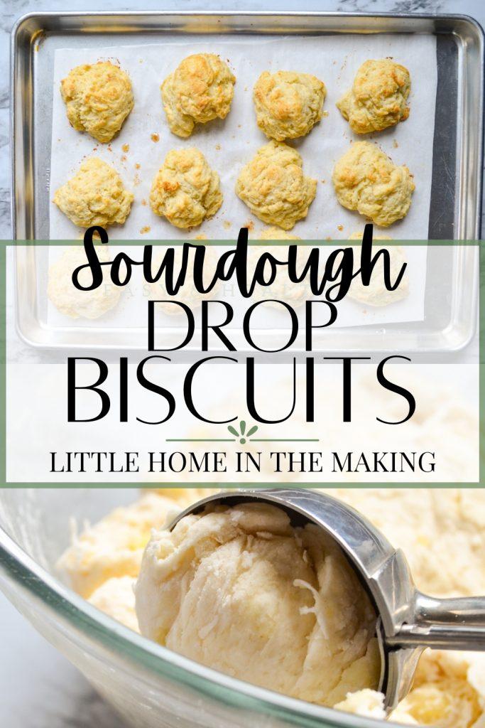 Sourdough Drop Biscuits